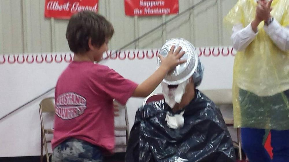 """Pie in the Face"" Fundraiser Raises $250!"